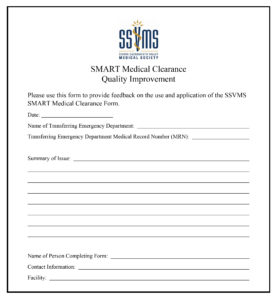 Medical Clearance Forms | Forms Smart Medical Clearance
